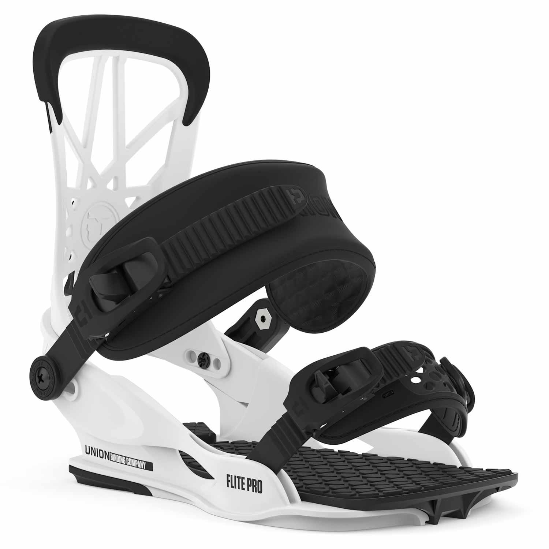 Union Flite Pro Snowboard Binding White 2020