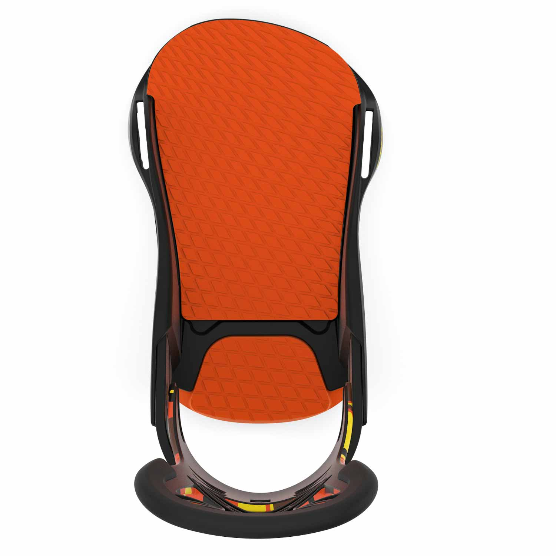 Union Cadet PRO Snowboard Binding Orange Camo 2020
