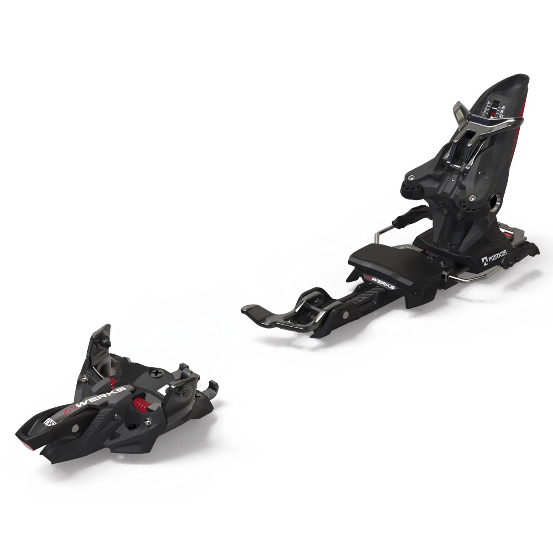 Marker Kingpin MWerks 12 Ski Binding Black/Red 2020