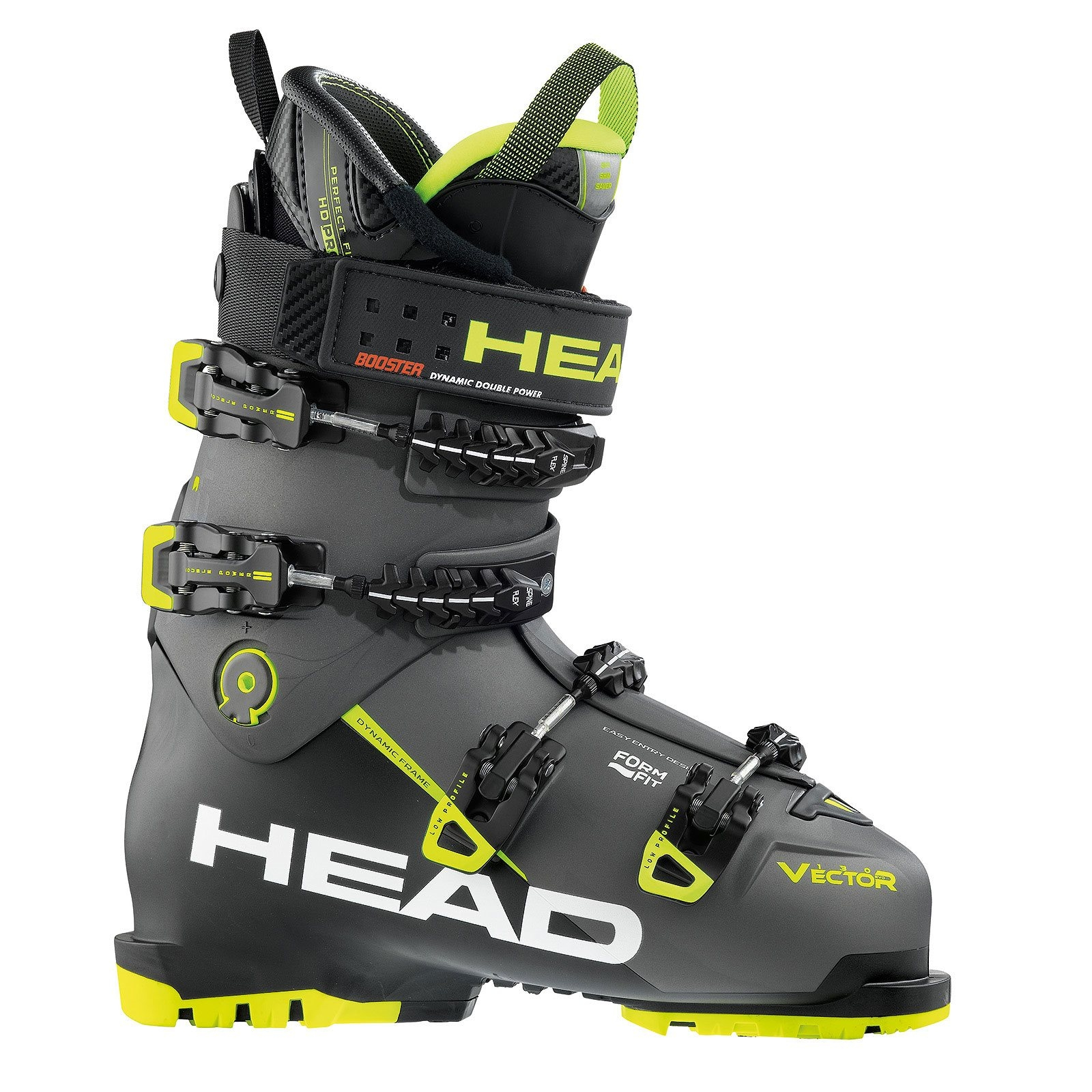 56e24d51f22 Head Vector Evo 130S Ski Boot Anthracite Yellow 2018 - Snowtrax Store