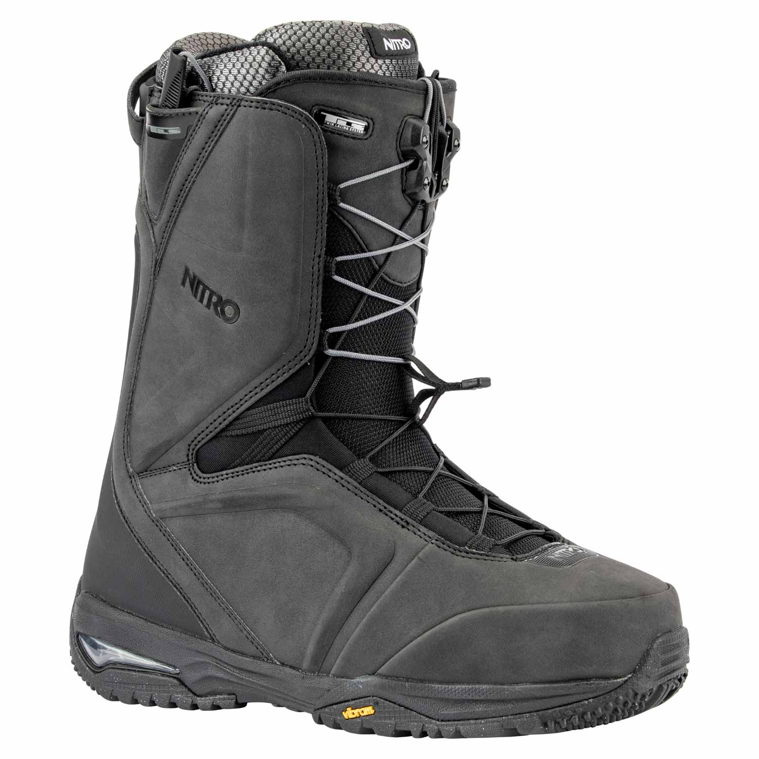 Nitro Team TLS Snowboard Boot Black 2020