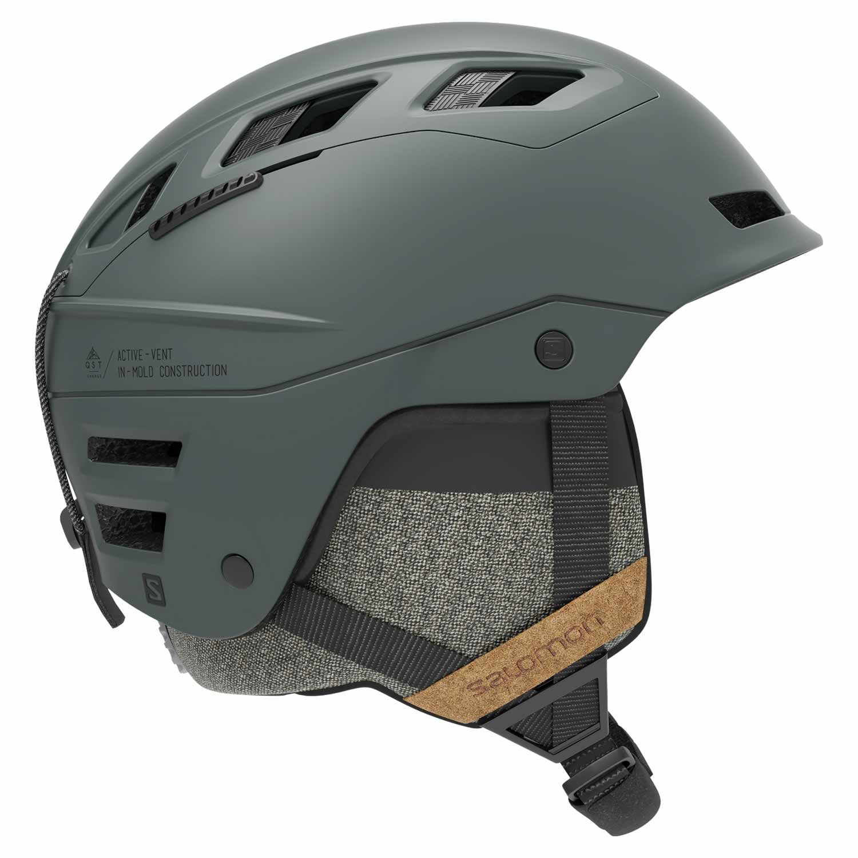 Salomon QST Charge Helmet Green Gables 2020