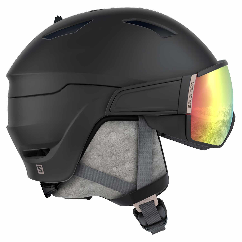 Salomon Mirage Plus Photo Helmets Black/Rose Gold Visor 2020