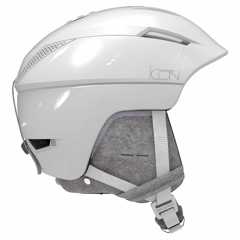 Salomon Icon² Custom Air Helmet White Glossy Premium 2020