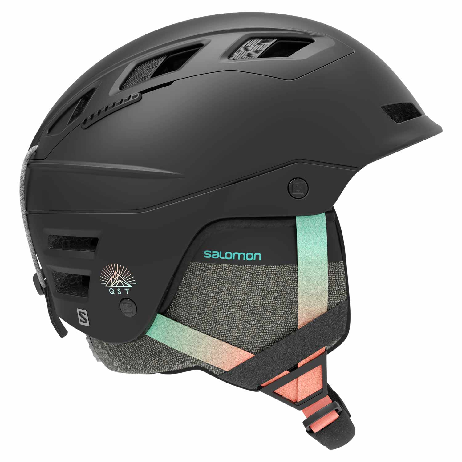 Salomon QST Charge W Helmet Black Gradient 2020