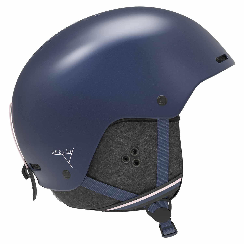 Salomon Spell Plus Helmet Wisteria Navy 2020