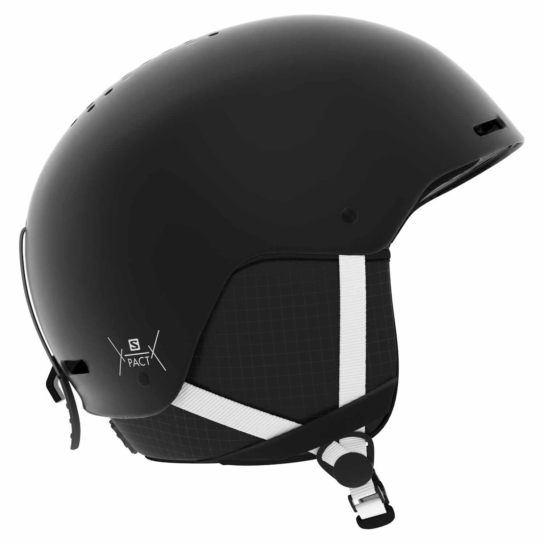 Salomon Pact Junior Helmet Black/White 2020