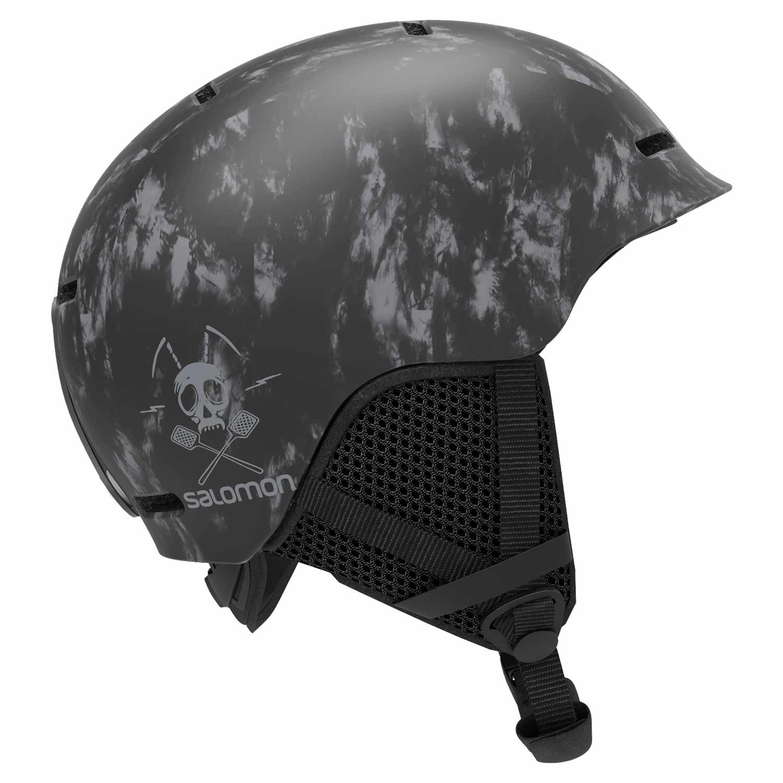 Salomon Grom Helmet Black Tie Dye 2020