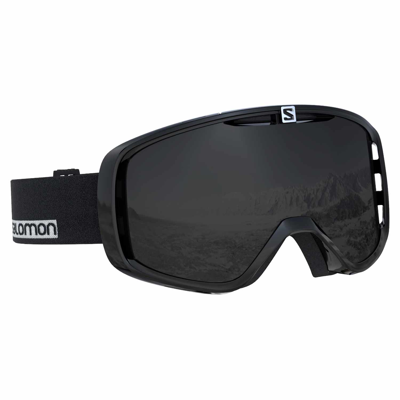 Salomon Aksium Goggle Black/White/Solar Black Lens 2020