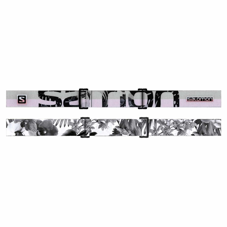 Salomon iVY Goggle White Flower/Universal Super White Lens 2020