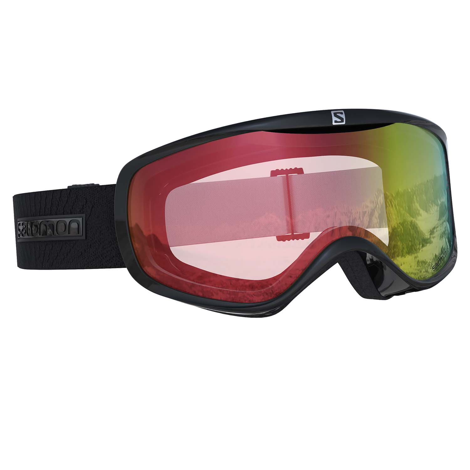 Salomon Sense Photo Goggle Black/All Weather Red Lens 2020