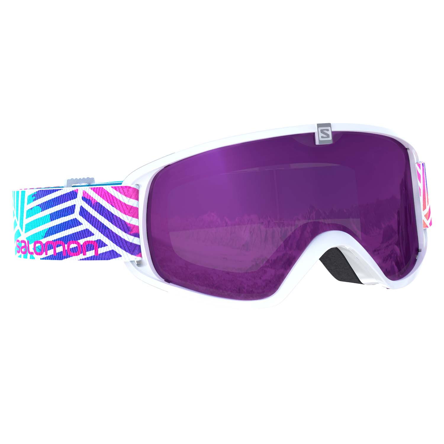 Salomon Trigger Junior Goggle White Lotus/Universal Ruby Lens 2020