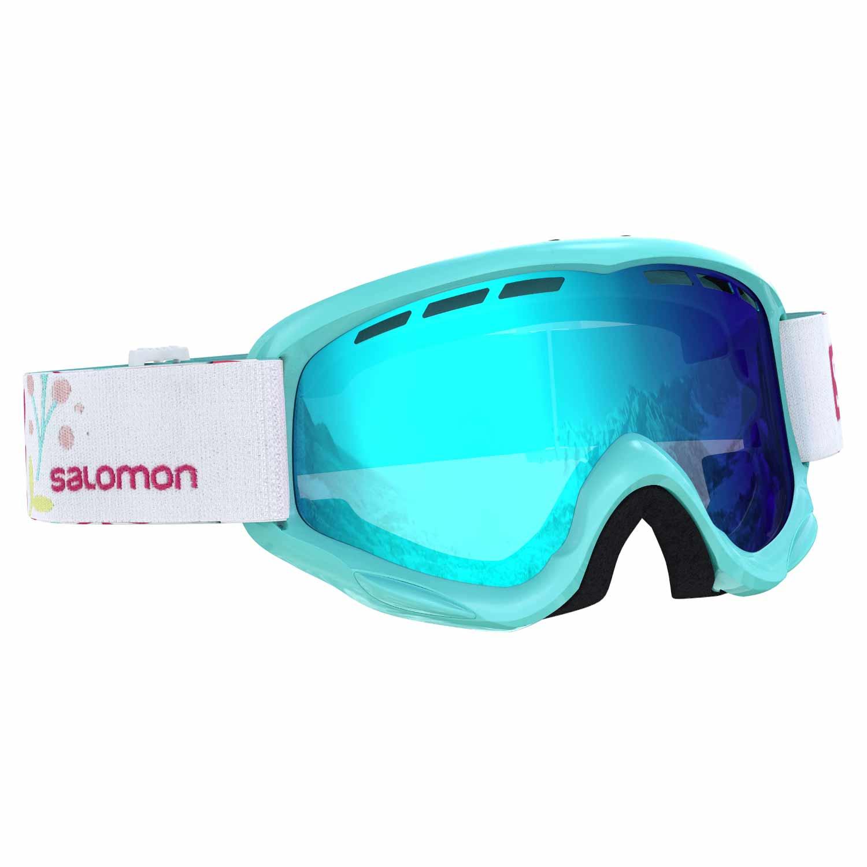 Salomon Juke Junior Goggle Aruba Flower/Universal Mid Blue Lens 2020
