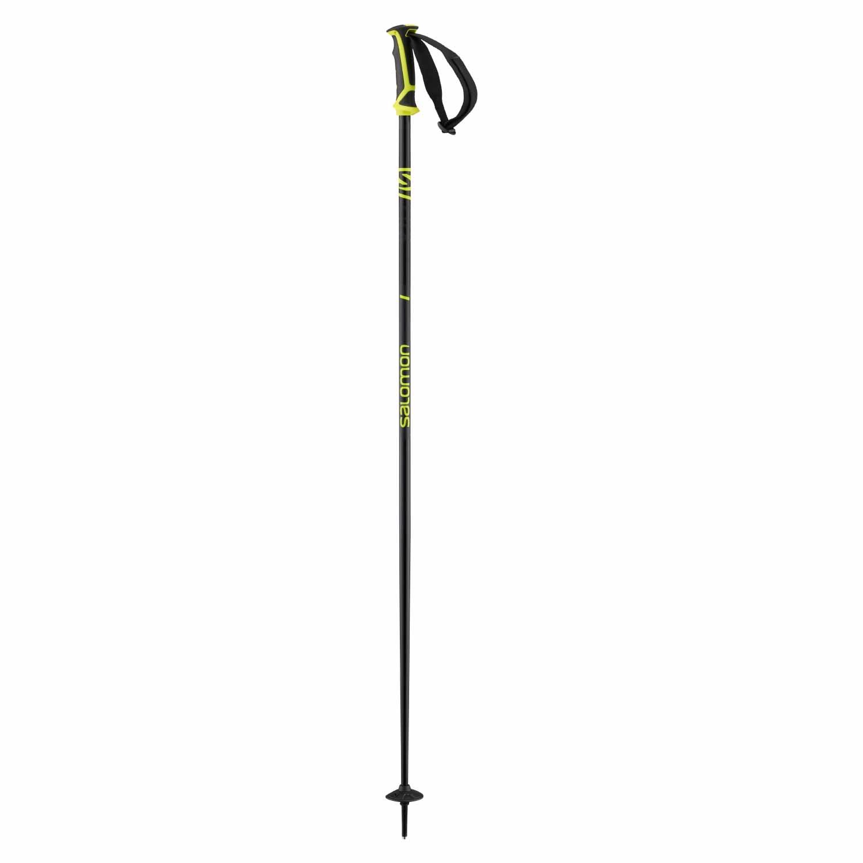 Salomon X 08 Ski Poles Black/Neon Yellow 2020
