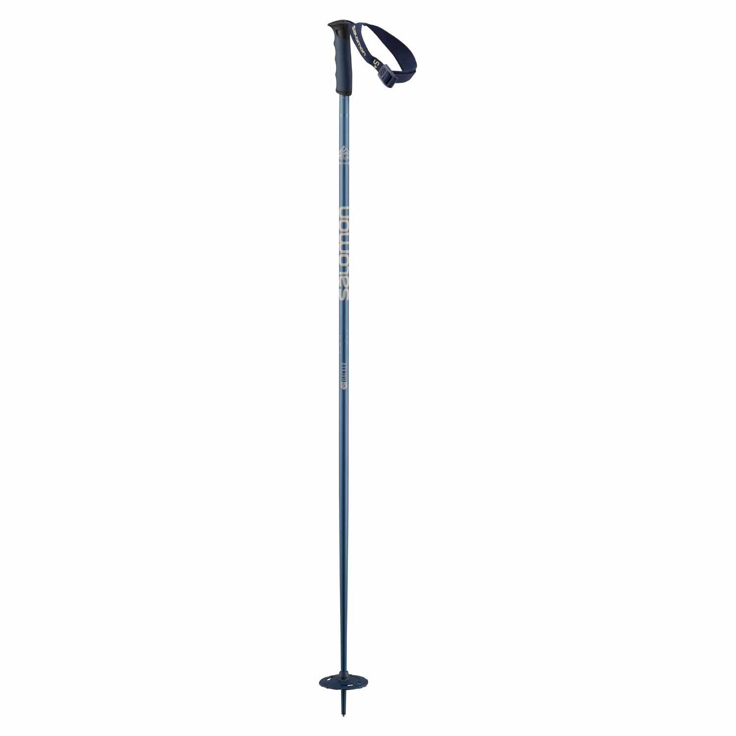 Salomon Hacker S3 Ski Pole Blue 2020