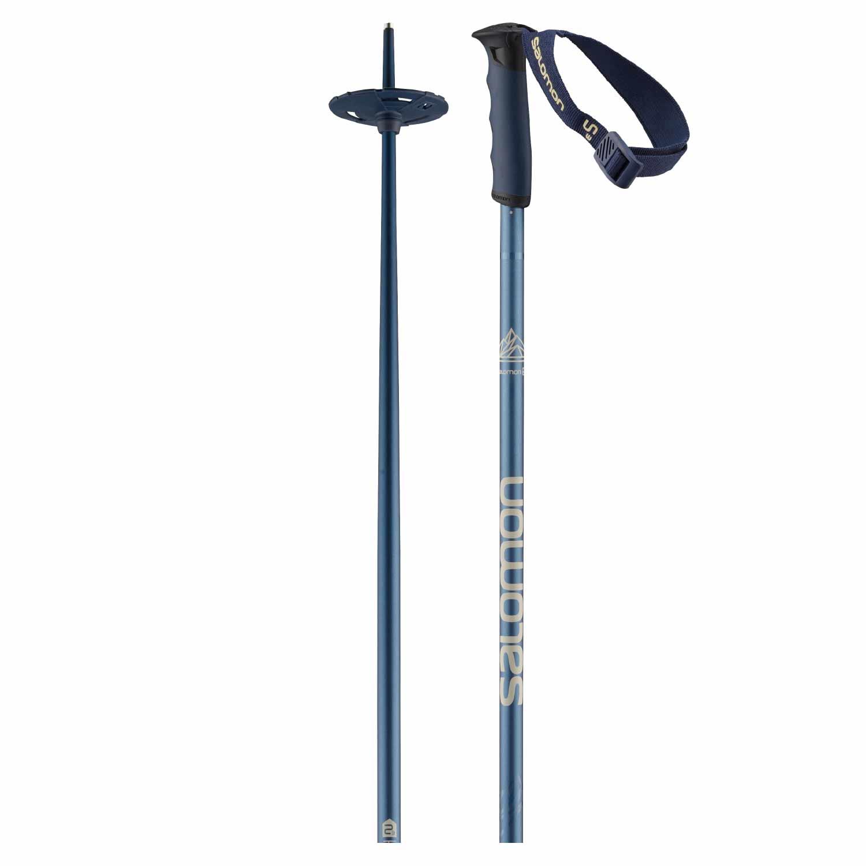 Salomon Hacker S3 Ski Pole Blue 2020