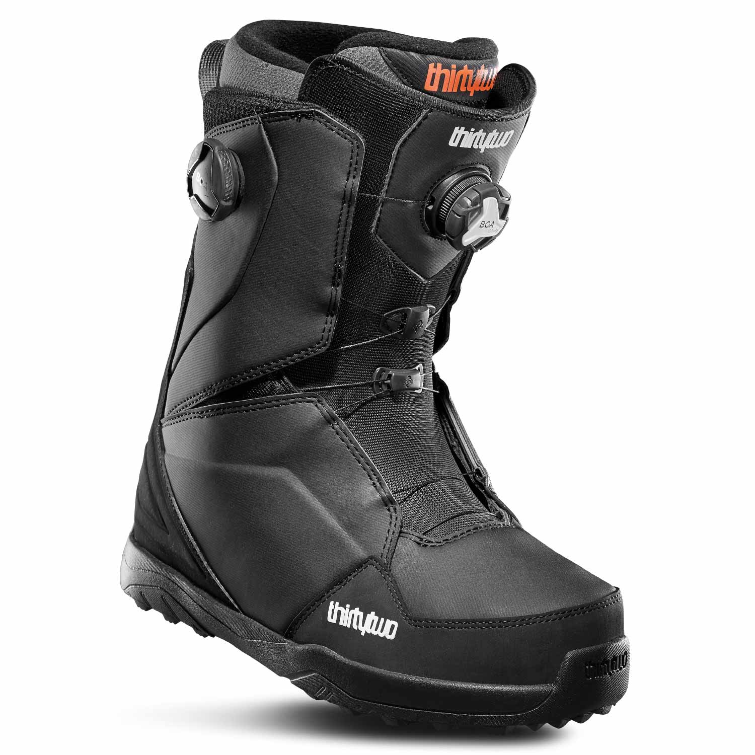 ThirtyTwo Lashed Double BOA Snowboard Boot Black 2020