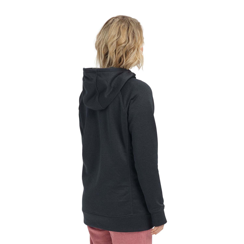 Burton Oak Long Hoodie Pullover True Black Heather 2020