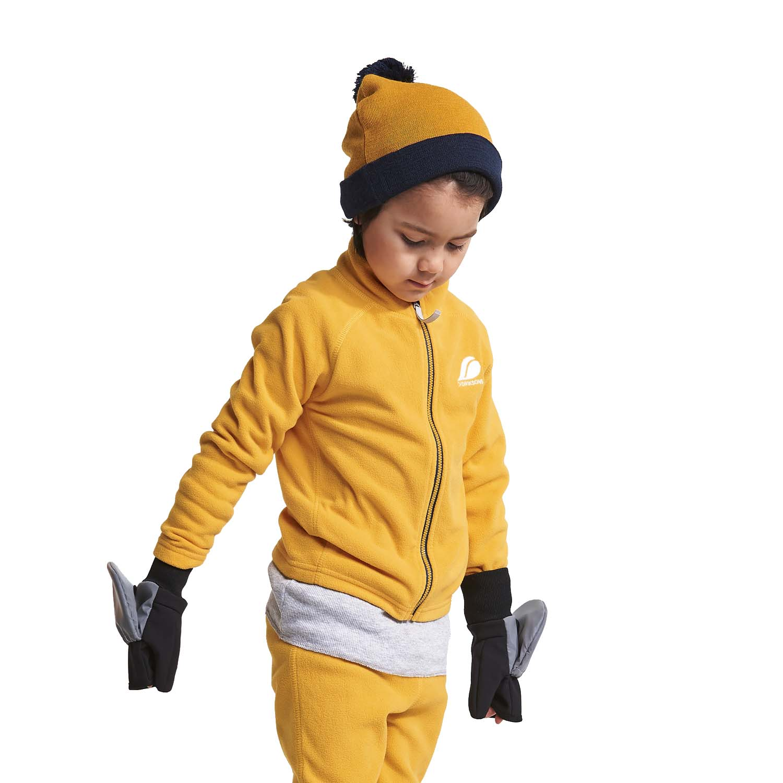 Didriksons Koj Kids Beanie Oat Yellow 2020