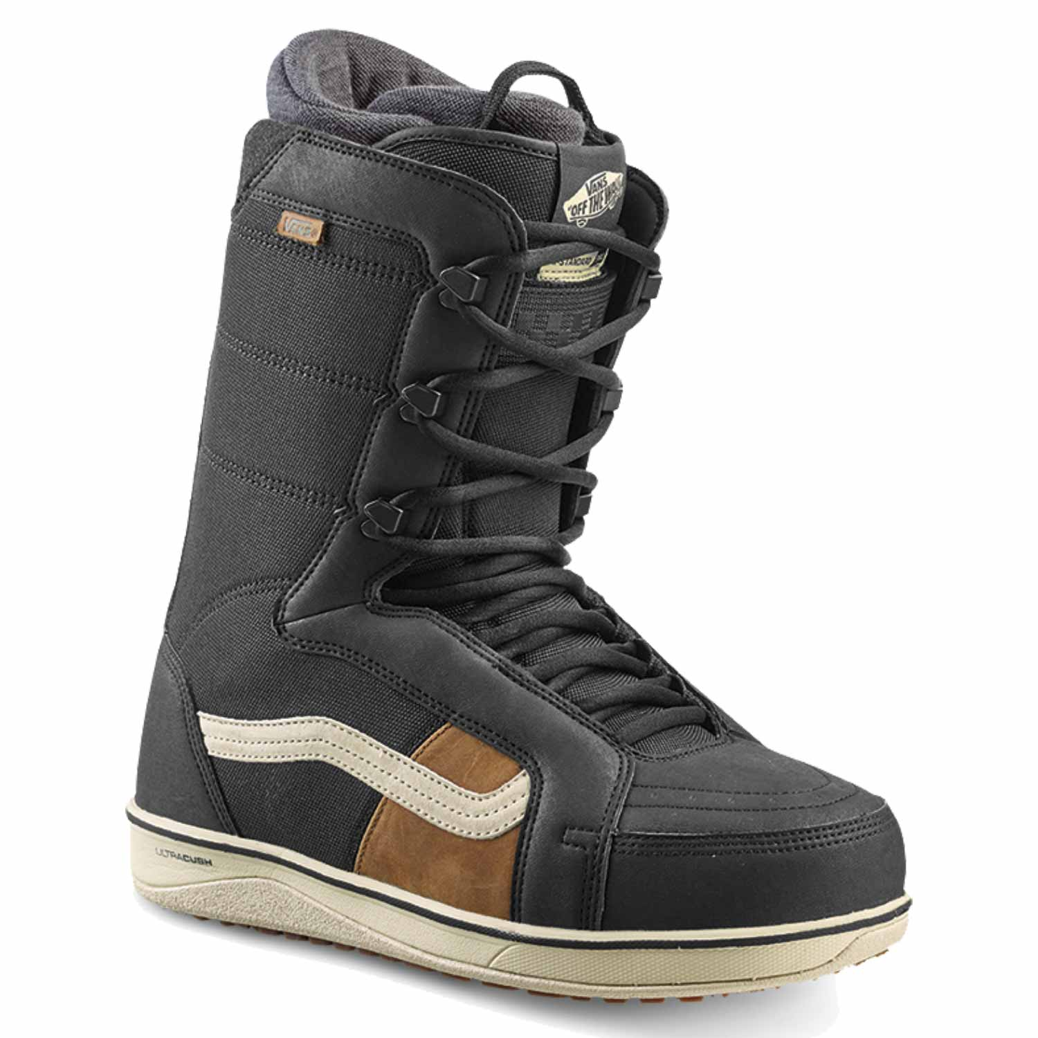 Vans Hi-Standard Pro Snowboard Boot Black/Off-White 2020