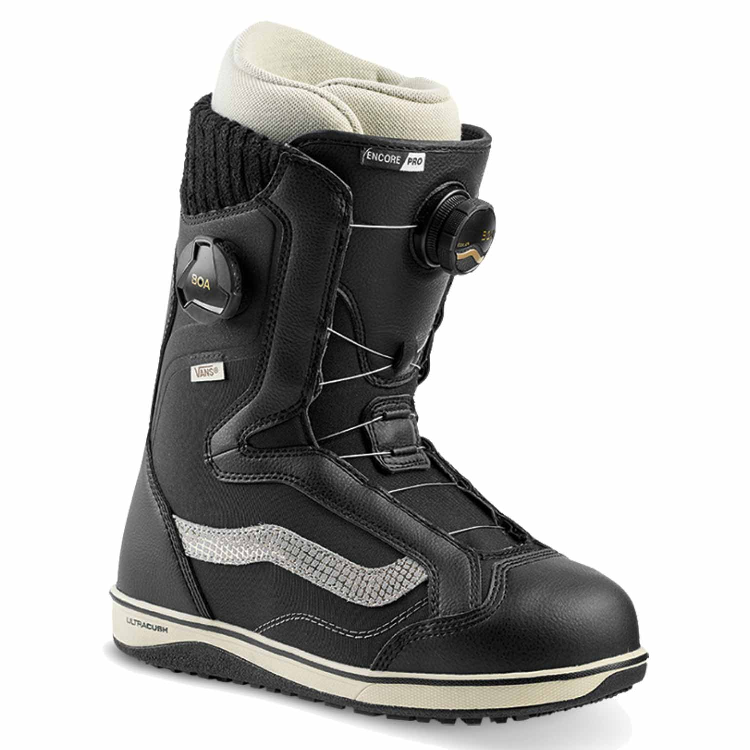 Vans Encore Pro Snowboard Boot Black/Turtledove 2020