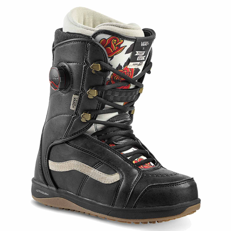 Vans Ferra Pro Snowboard Boot Mary Rand Black/Marshmallow 2020