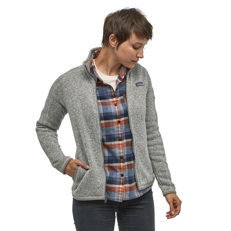 Patagonia Womens Better Sweater Jacket Birch White 2020