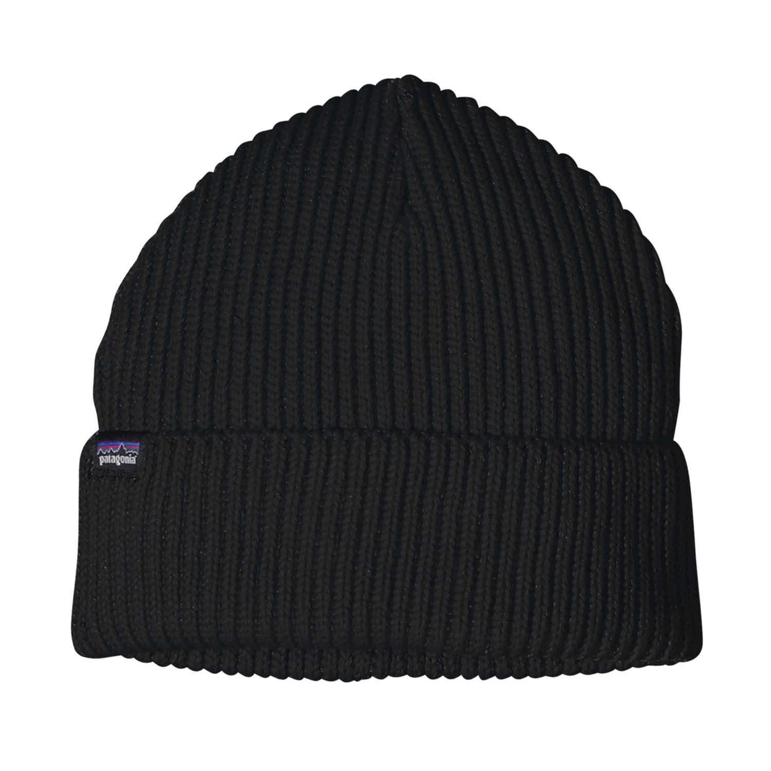 Patagonia Fishermans Rolled Beanie Black 2020