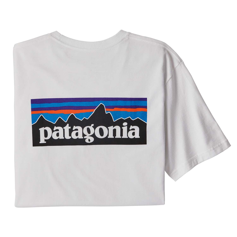 Patagonia P-6 Logo Responsibili-Tee White 2020
