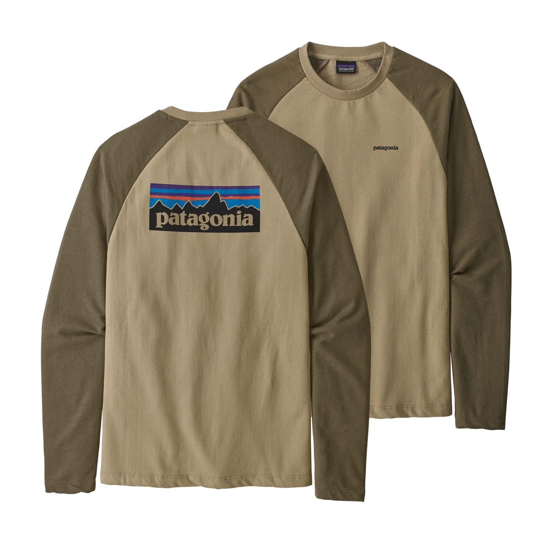 Patagonia P-6 Logo Lightweight Crew Sweatshirt El Cap Khaki 2020
