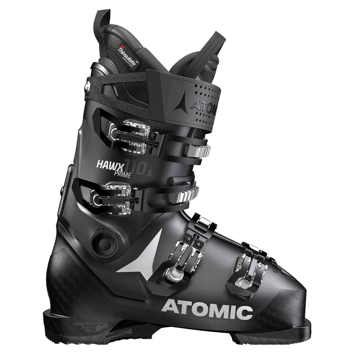 Atomic Hawx Prime 110 S Ski Boot Black/Anthracite 2020