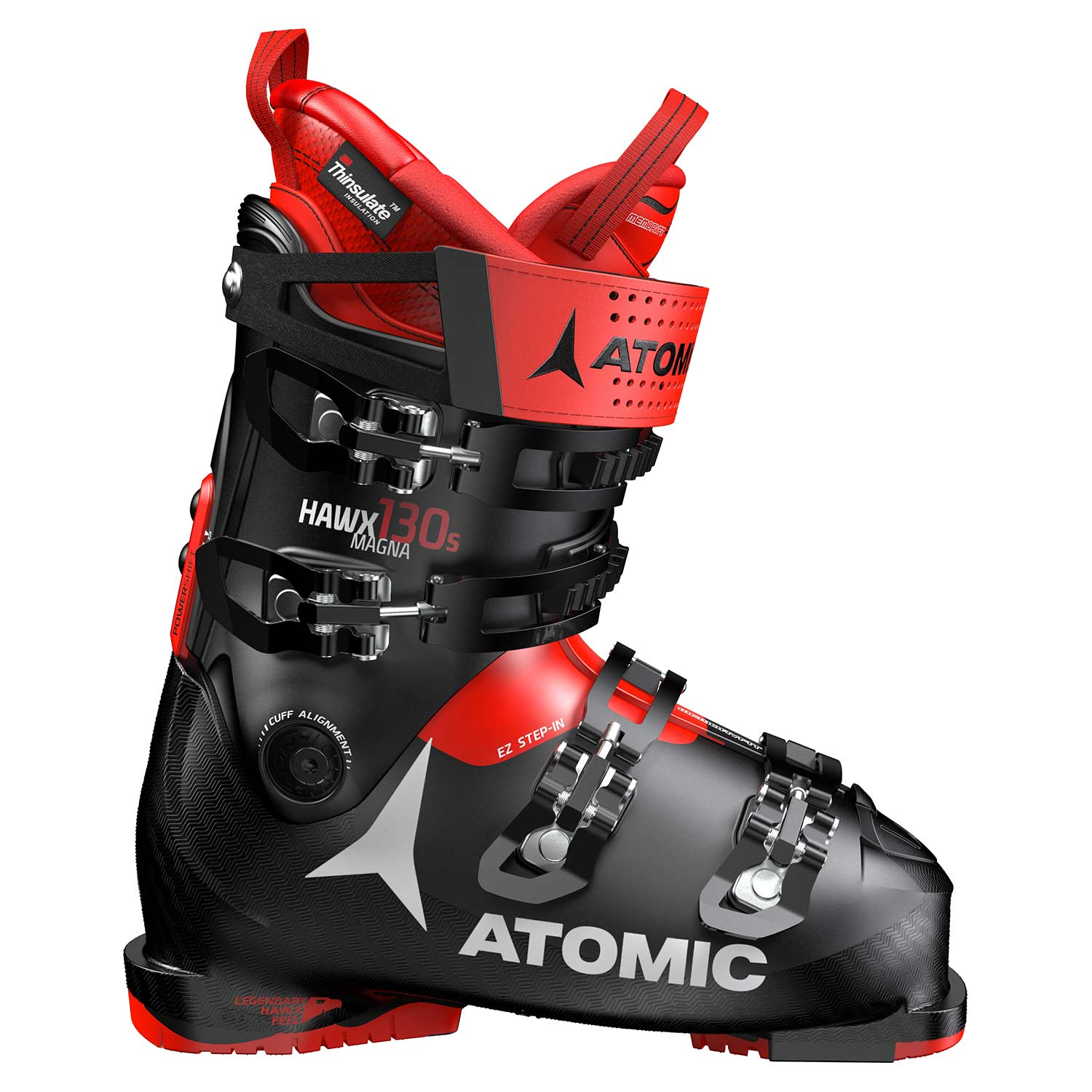 Atomic Hawx Magna 130 S Ski Boot Black/Red 2020