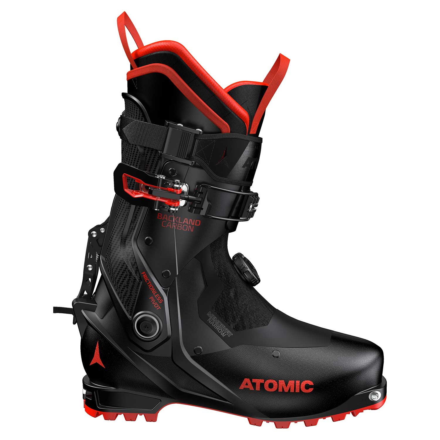Atomic Backland Carbon Ski Boot Black/Red 2020