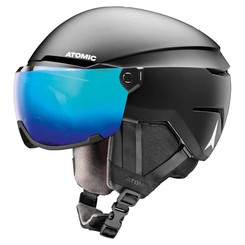 Atomic Savor Visor Stereo Helmet Black 2020
