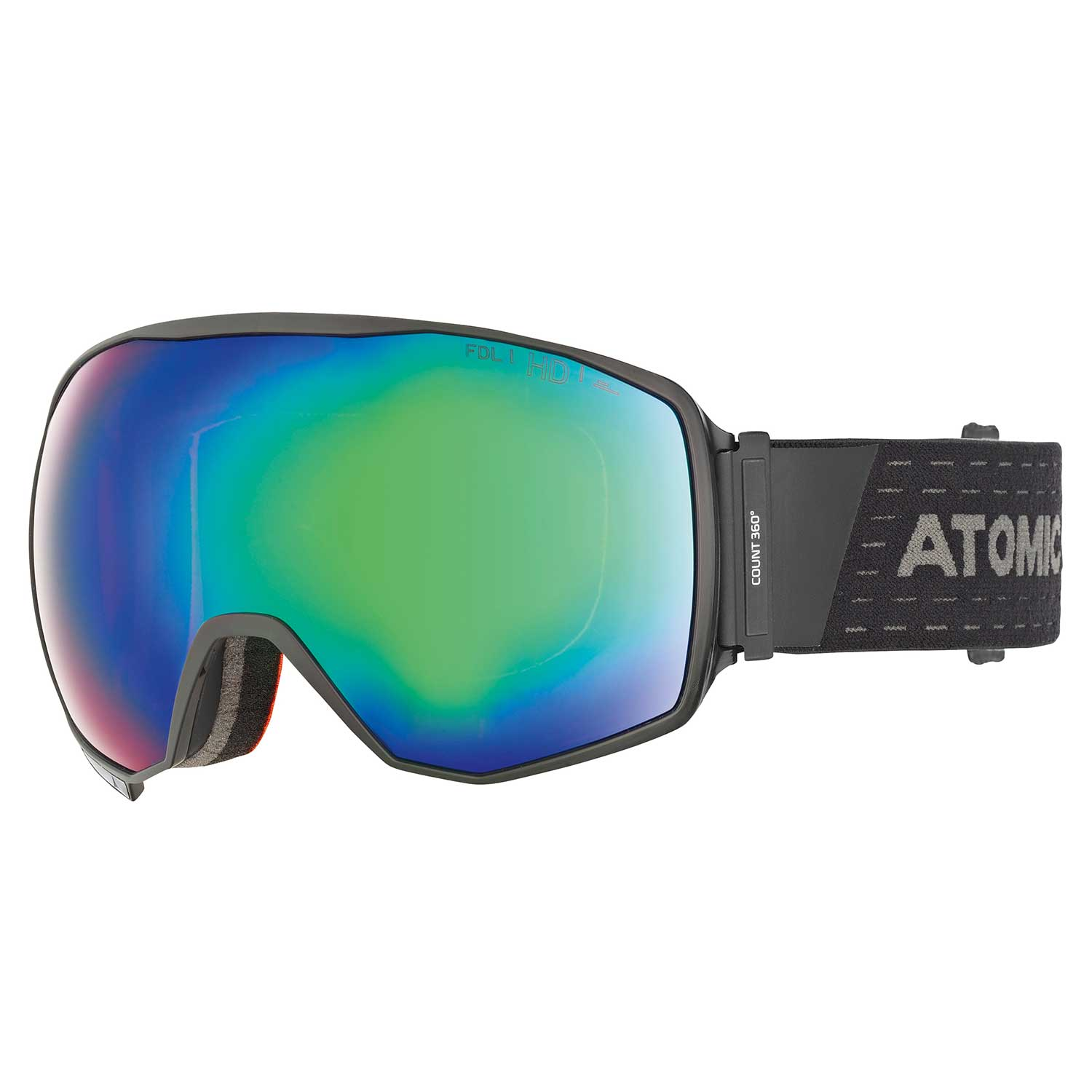Atomic Count 360 HD Goggle Black 2020
