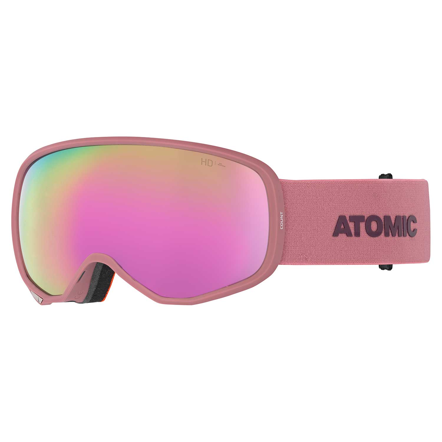 Atomic Count S HD Goggle Rose/Nightshade 2020