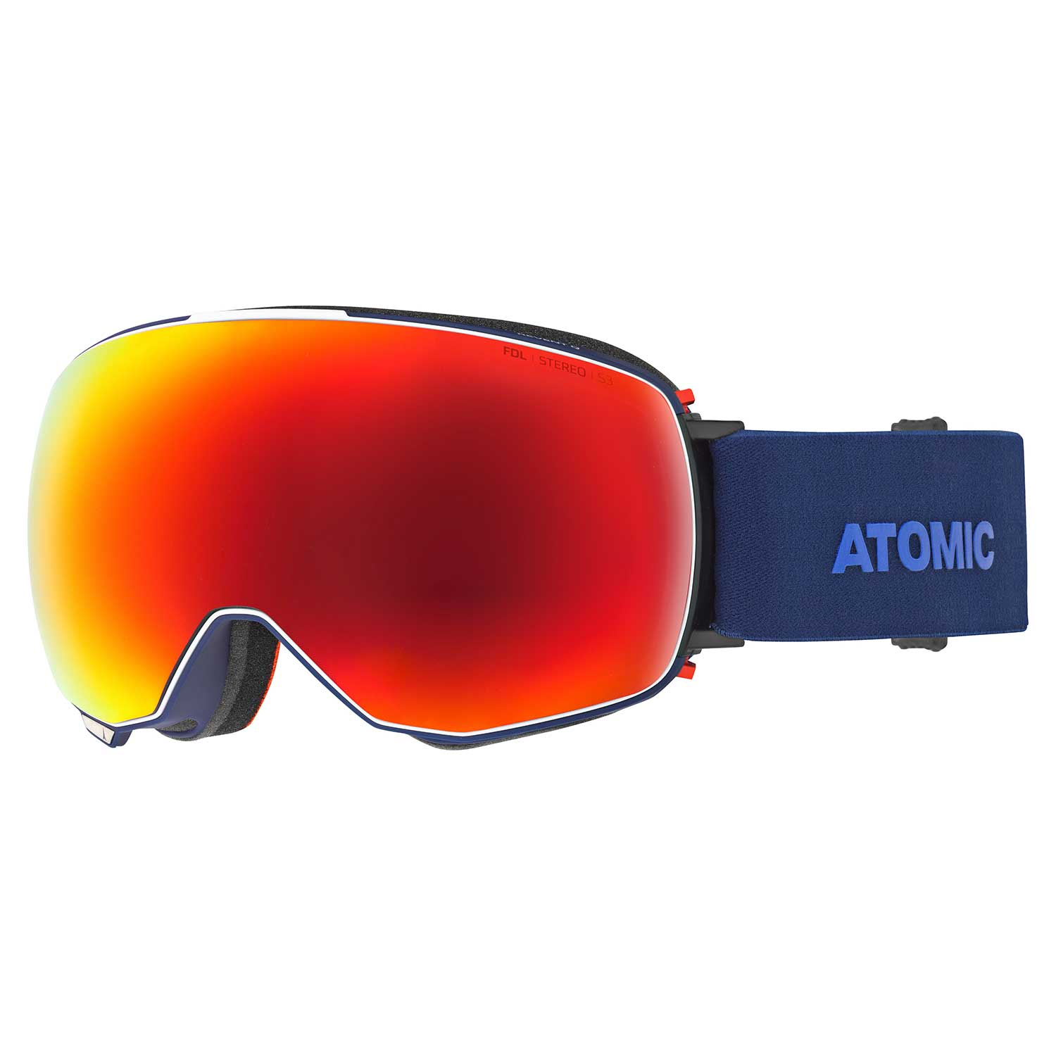 Atomic Revent Q Goggle Stereo Blue 2020