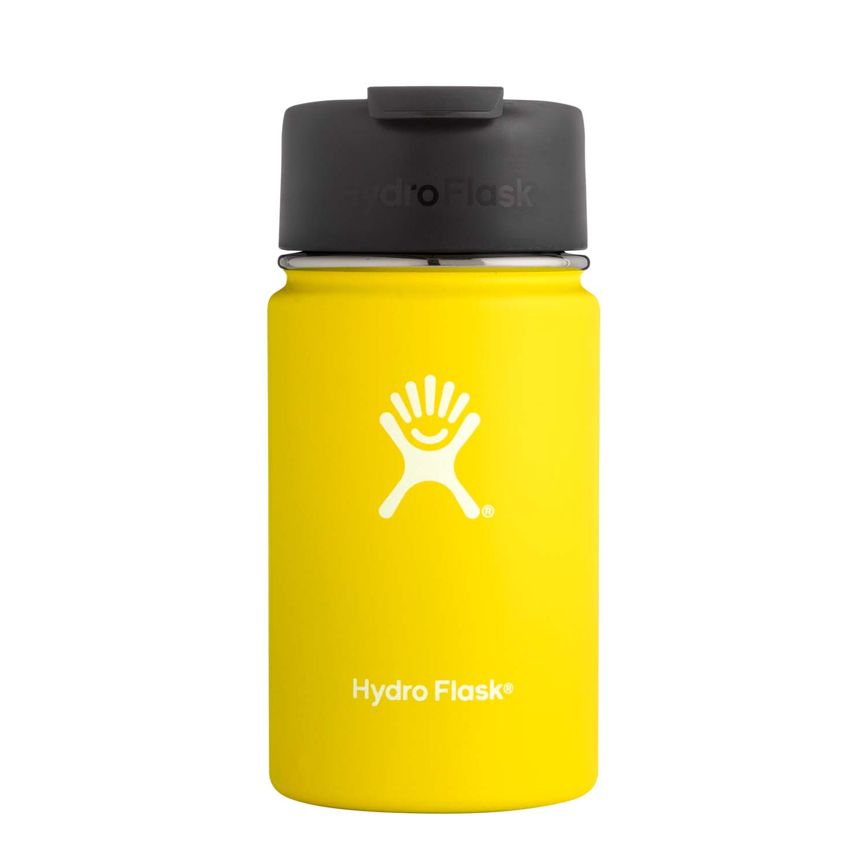 Hydro Flask 12oz Wide Mouth Coffee Flask Lemon