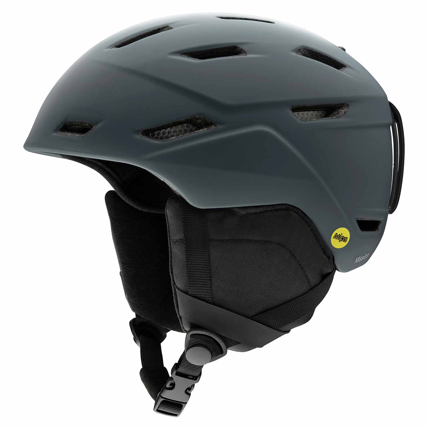 Smith Mission MIPS Helmet Matte Charcoal 2020