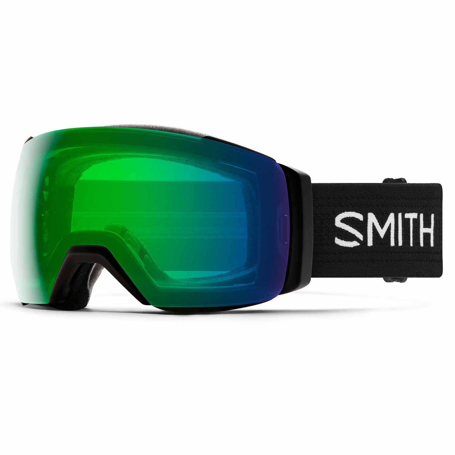 Smith IO Mag XL Goggle Black/Chromapop Everyday Green Mirror 2020