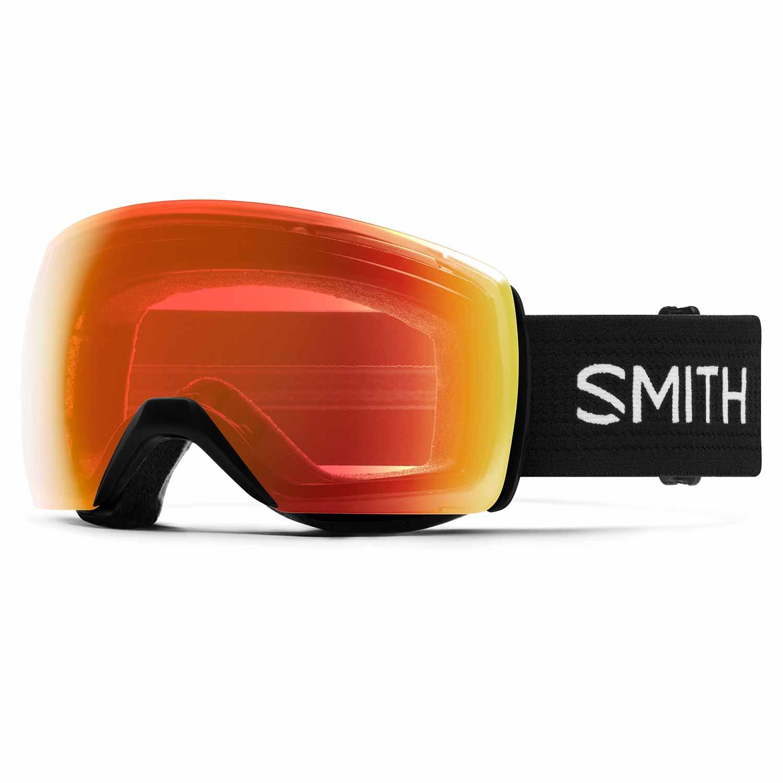 Smith Skyline XL Goggle Black/Chromapop Red Mirror 2020