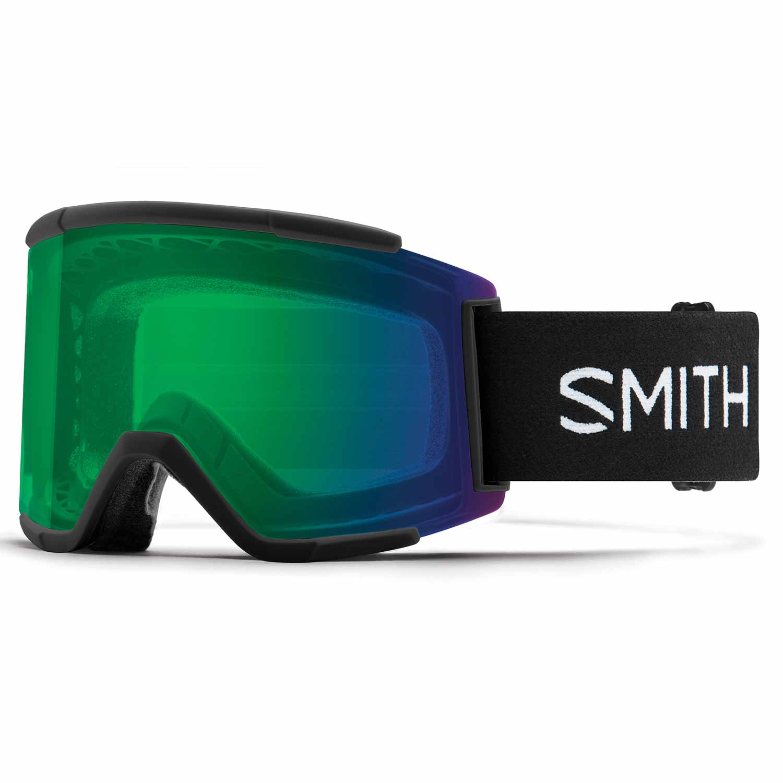 Smith Squad XL Goggle Black/Chromapop Everyday Green Mirror 2020