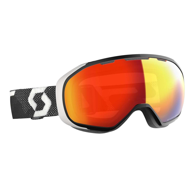 Scott Fix Goggle Black/White LS Red Chrome Lens 2020