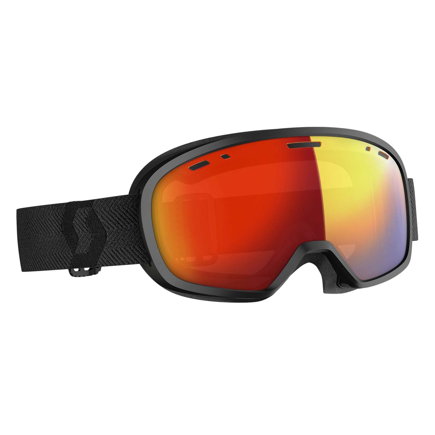 Scott Muse Pro Goggle Black/LS Red Chrome Lens 2020
