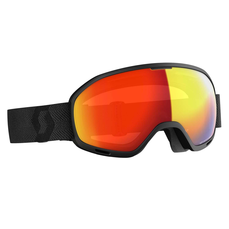Scott Unlimited II OTG Black/LS Red Chrome Lens 2020
