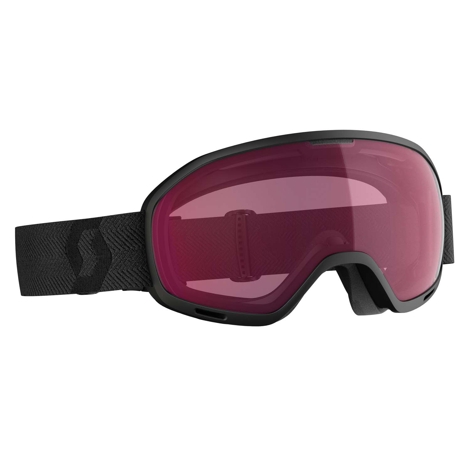 Scott Unlimited II OTG Black/Enhancer Black Lens 2020