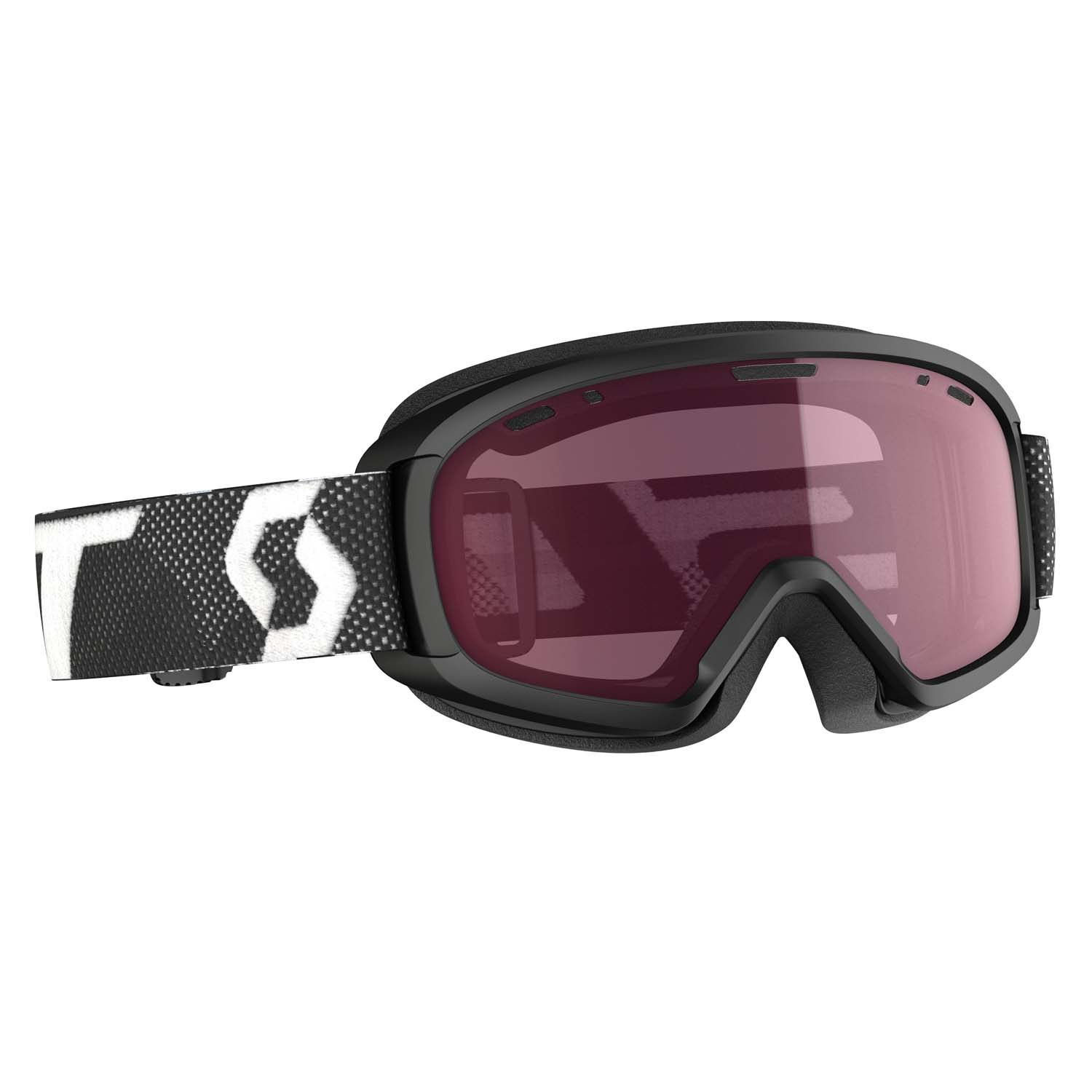 Scott Witty Junior Goggle Black/White/Enhancer Lens 2020
