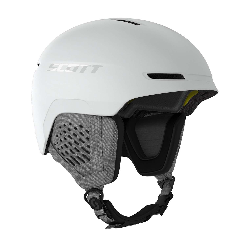 Scott Track Plus Helmet White 2020
