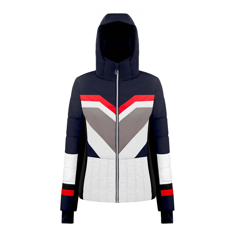 Poivre Blanc Active Panel Ski Jacket Gothic Blue/Multi 2020