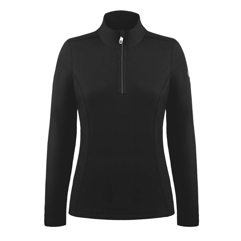 Poivre Blanc Micro Fleece Half Zip Black 2020